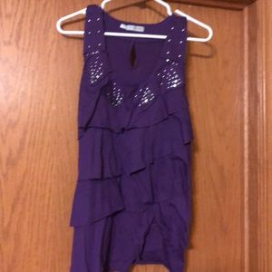 Maurices Purple Top